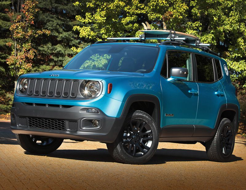 2015 Jeep Renegade Riptide Concept Vehicle