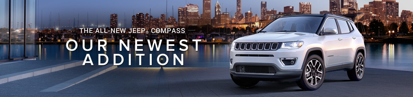 The all-new Jeep Compass: Our newest addition