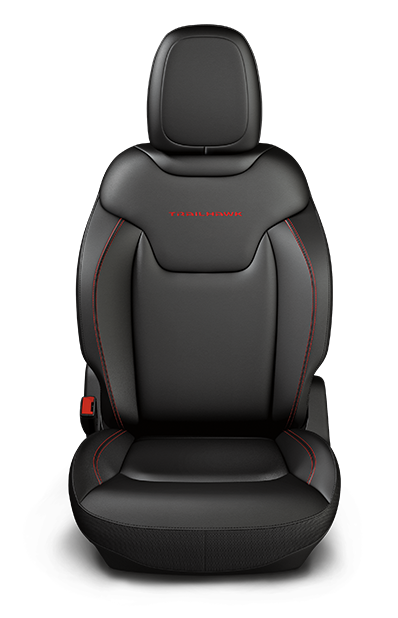 Trailhawk seats black leather